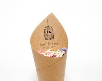 NEW Tweet Hearts Confetti cones Pack of 5