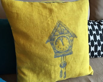 Cushion Hello Yellow