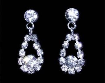 Style # 13564 - Dangle Teardrop Earring