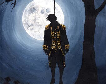 John Andre - The Hanging - Original Acrylic Painting