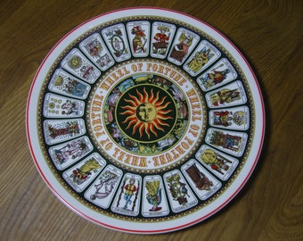 Wedgwood Wheel of Fortune 'Tarot Card' Decorative Wall Plate