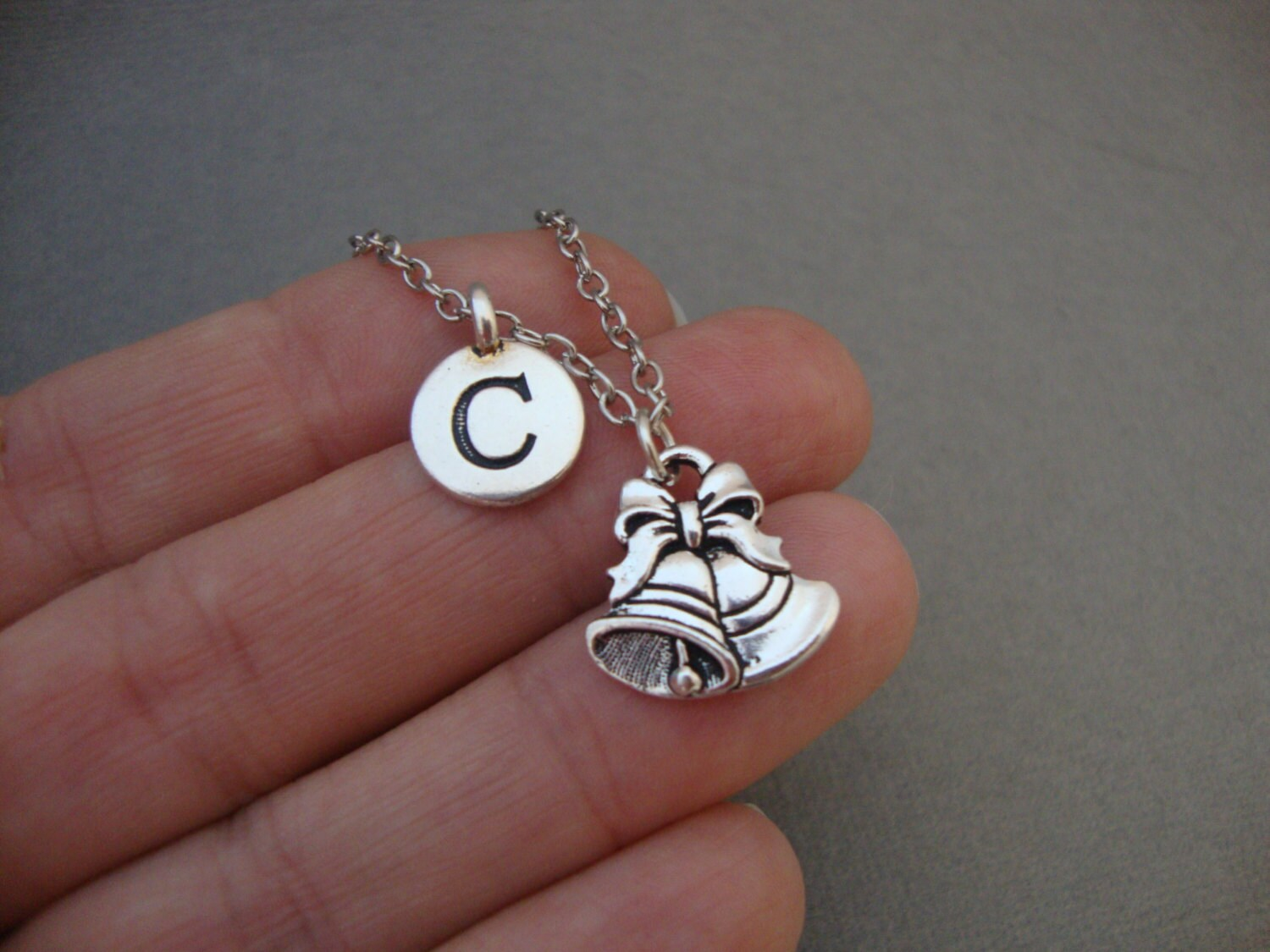 christmas bells necklace personalized christmas xmas bells bangle