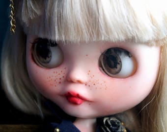 Custom Blythe Dolls For Sale by Blythe OOAK custom Doll ~ Free shipping~