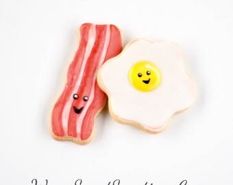 Half Dz. Bacon and Egg Cookies! Is Bacon Favorite Part of the Day?