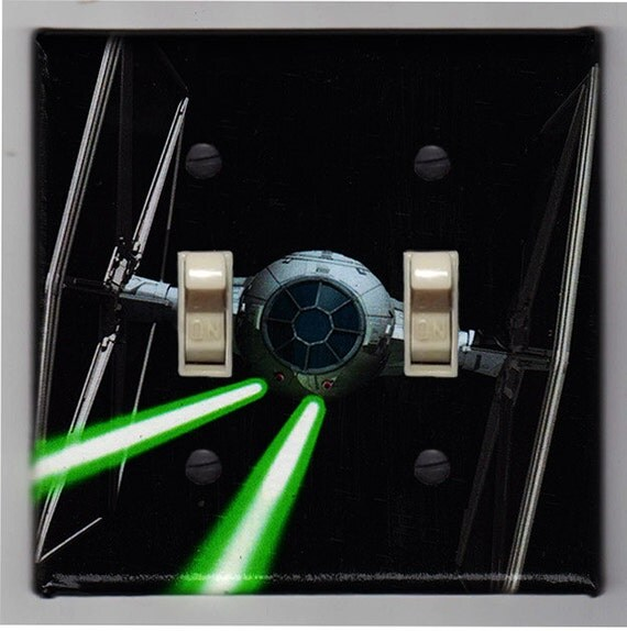Items Similar To Star Wars Tie Fighter Double Light Switch