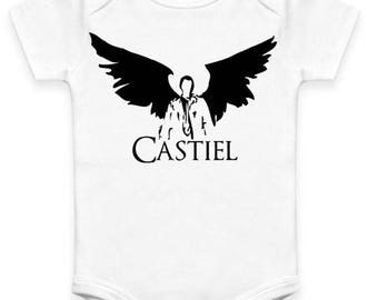 Castiel - Supernatural - Baby Clothes
