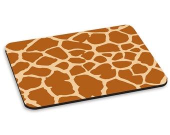 Giraffe Pattern PC Computer Mouse Mat Pad