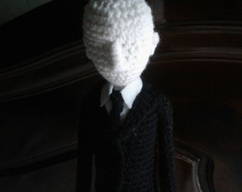 SALE!!! Slenderman - Amigurumi Crochet Doll - 17 Inches Tall !!!
