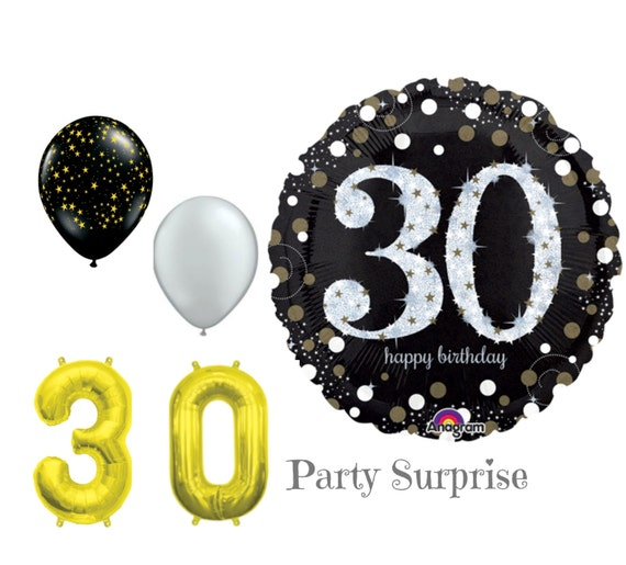 30th birthday balloon package 30th birthday party decorations