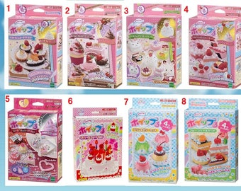 Whipple,Japanse Deco Sweets kit,DIY,Fake Sweets,Making toy,GIRL'S gift,Birthday present,Epoch