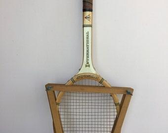 Vintage Dunlop tennis racquet