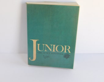 Junior Girl Scout Handbook 1960's