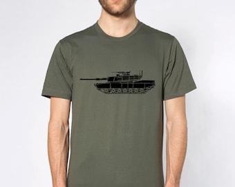 KillerBeeMoto: M1 Abrams Maint Battle Tank T-Shirt Short & Long Sleeve