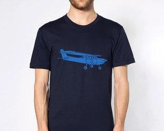 KillerBeeMoto: Limited Release Print of Cessna Recreational Aircraft Short Or Long Sleeve Shirt