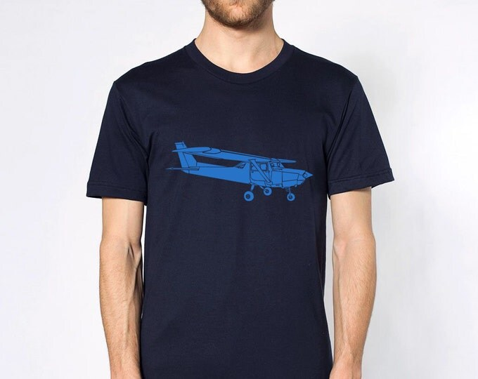 KillerBeeMoto: Limited Release Print of Cessna Recreational Aircraft Short Or Long Sleeve Shirt