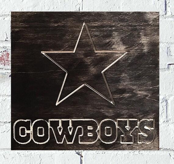 Dallas Cowboys Welcome Home Sign: Items Similar To Dallas Cowboys Logo Handmade Custom