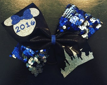 Disney/Worlds/Summit Cheer Bow