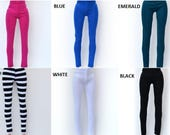 Barbie clothes, 10 colors leggings for Barbie doll, barbie handmade clothes, fashion doll clothes, barbie outfit