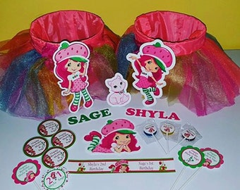 Strawberry Girl Party Pack