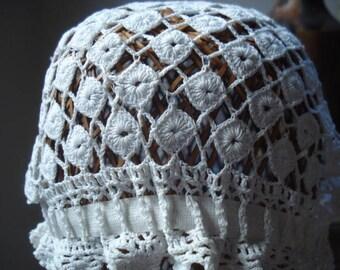 Vintage Baby Bonnet # Crochet # Fleamarketbuzz