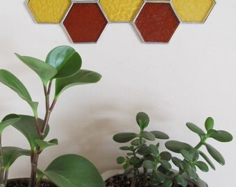 Honeycomb Stained Glass