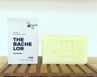 Hair Soap | Laurel and Avocado soap| Hair loss shampoo bar| Tea tree | Rosemary | Cypress | Cedarwood