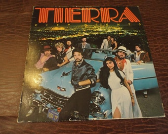 Tierra - City Nights Vinyl LP - Boardwalk  Latin Jazz/Fu Lp Album 1980   Gift under 10  Boardwalk Company