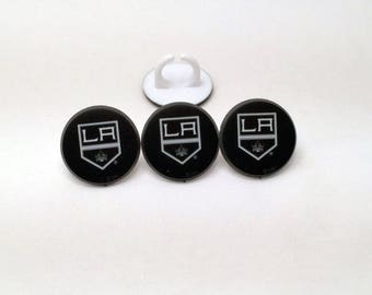12 Los Angeles Kings Cupcake Rings NHL Hockey Toppers Party Favors