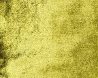 McAlister Textiles Metallic Shiny Crushed Velvet Look Fabric by the Metre, Half Metre & Sampler Swatches - Lime Green