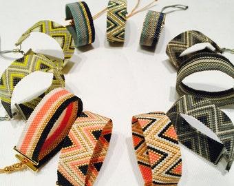 Zigzag or Zebra bracelet
