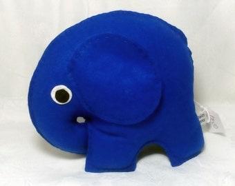 Felt Elephant, Toy Elephant, CE Tested, Soft Toy, Elephants, Blue, Childrens, Boys, Girls, Nursery, Baby Shower