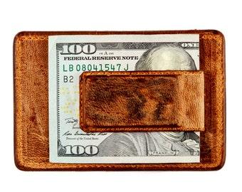 Magnetic Card Case (Vintage Brown)