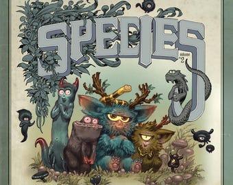 """SPECIES Vol#2 - BOOK / """"Simple Edition"""""""