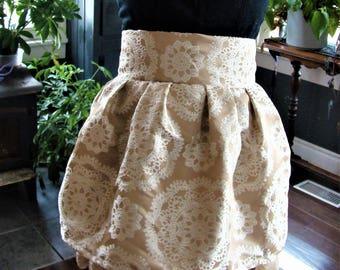 Vintage Lace Steam Punk Skirt