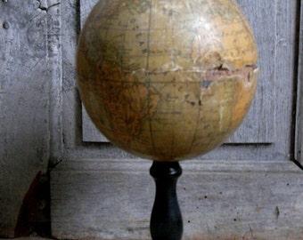 antique desktop globe
