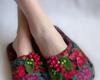 Slippers felting
