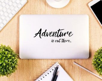 Adventure is out there, Macbook Decal, Apple Macbook, iPad and other laptop stickers, Mac Decal, iPad Decals, iPad stickers