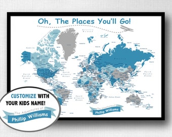Set Of Push Pins For Travel Map World Map USA Map - Childrens us pushpin map
