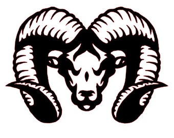 SVG File of Ram Head