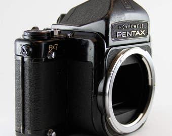 Honeywell Pentax 6x7 Medium Format Camera Body Only FOR PARTS