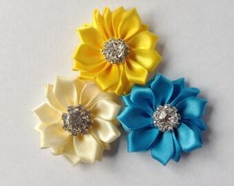 Dog collar flowers, Dog accessories, dog collar, Pet accessories, dog collar bling, collar Flower, Wedding Dog Flower, Bows for Dog, Dog Bow