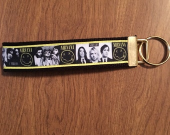 Nirvana Key Chain Zipper Pull