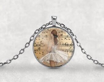 Ballerina Necklace•Ballet Dancer•Ballerina•Ballet•Gift for Ballerina•Ballerina Jewelry•Ballerina Gift•Ballet Necklace•Dance Recital Gift