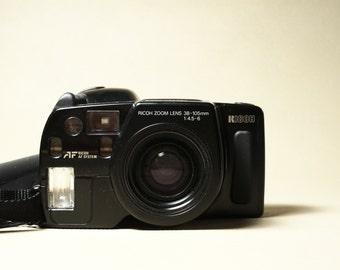 Ricoh Mirai 105 - A quirky SLR from 1988