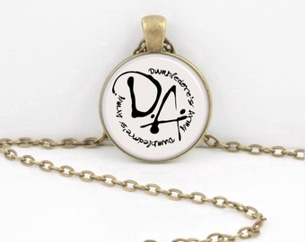 Dumbledore's Army DA Harry Potter Literary Resistance Gift Pendant Necklace