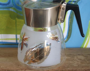 Retro vintage Atomic 1960'S Pyrex Coffee Pot/JUG/Carafe