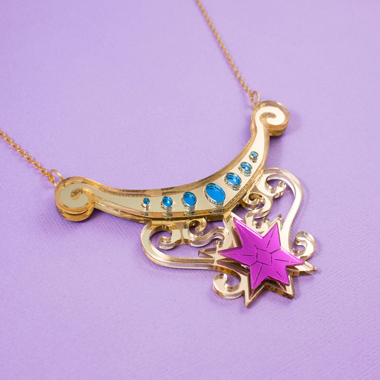 twilight sparkle element of magic necklace