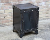 Modern Industrial Steel Cabinet Locker | Chest | File | Night Stand | Hallway | Entry Way | Landing table