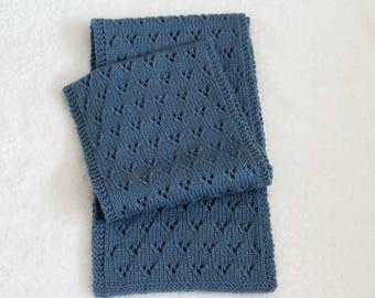 KNITTING PATTERN, Knit Scarf Pattern, Knitted Scarf Pattern, Knit Scarf, Knitted Scarf, Womens Knit Scarf, Womens Scarf, Scarf Pattern, Knit