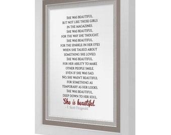 DIGITAL LISTING: She Is Beautiful F.Scott Fitzgerald